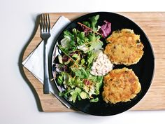 Low-Carb Fish Burger (i.e. Fish Cakes)