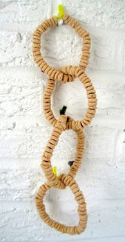 Several ideas for diy bird feeders.