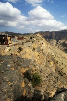 This Hotel Is Built On a Cliff 6,500 Feet Above Sea Level -- Think You Could Stay There?