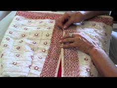 Como hacer y coser una falda joya http://ohmothermine.blogspot.com.es/2012/08/transformacion-de-tapete-falda-joya.html