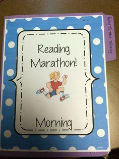 Reading Marathon- a test prep strategy