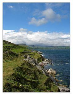 beauti coast, coast road, antrim coast, ireland coast