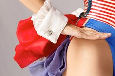 """The """"Red, White, & Blue Proof"""" costume is a patriotic look designed by Frank Spencer and was introduced by the Rockettes in 1981.  #rockette #NYC #costumes #dancers #glamorous #redwhiteandblue #red #white #blue  #patriotic"""