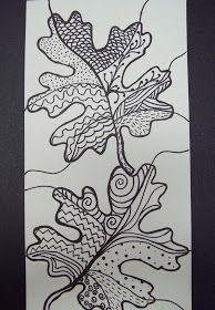 my artful nest: awesome autumn art
