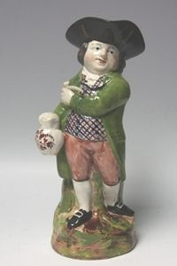 Cuttlestones:A COPELAND TOBY JUG - THE HEARTY GOOD FELLOW