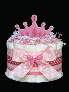 Diaper Princess Centerpiece