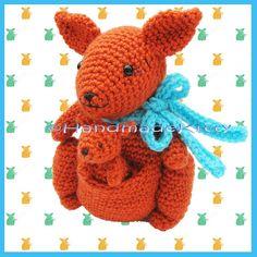 Amigurumi kangaroo by Millionbells | Crocheting Pattern