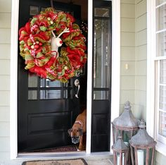 Holiday Home Tours - Front Porch