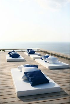 decks, outdoor cushions, roof deck, lounges, roofs, villas, place, design studios, outdoor lounge