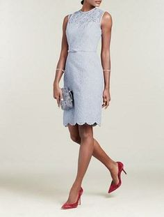 Perfect for work | Lace sheath dress