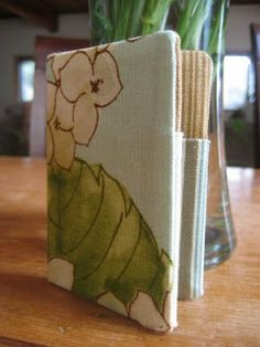 My So Called Green Life...: GTS: Handmade business/credit card holder