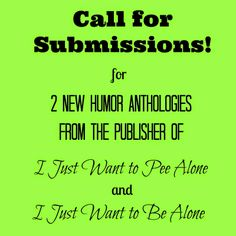 People I Want to Punch in the Throat: Call for Submissions #amwriting