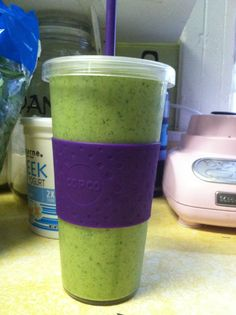 Pineapple Mango Banana Spinach smoothie-- this site has GREAT healthy smoothies.