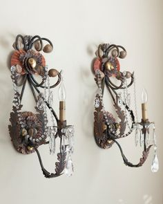 Marjorie Stafford's Magnificent Sea Sirens Sconces