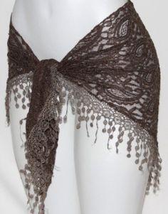 Fringe Tribal Steampunk Burlesque Gothic Belly Dance Dancing Lace Hip Scarf Belt | eBay 18