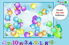 Interactive Education: Count the Balloons