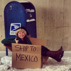 love my mormon missionary! christmas card idea (: