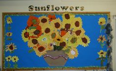 Sunflowers classroom display photo - Photo gallery - SparkleBox