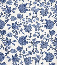 Dunbar-Indigo Fabric-Jaclyn Smith