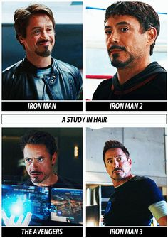 Iron Man -- A Study In Hair