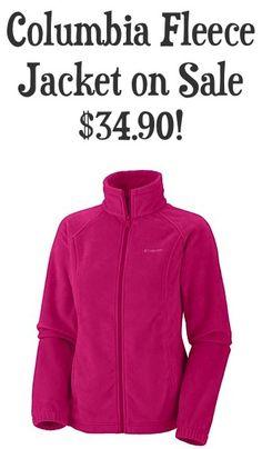 Columbia Women's Fleece Jacket Sale: $34.90!