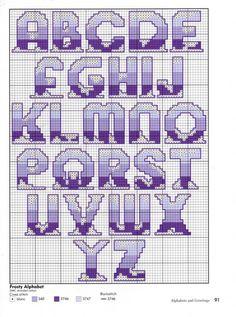 petit abc, cross stitchalpha, meglátogatandó helyek, stitch alphabet