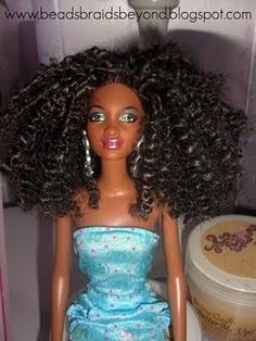 How to Curl Barbies Hair Using the Freezer forecast