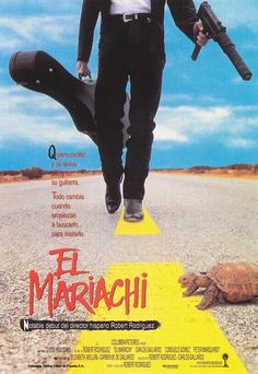 """El Mariachi,"" directed by Robert Rodriguez played #Sundance 1993"