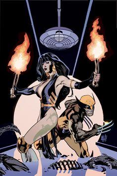 Adam Hughes - cover, X-MEN WildCATS #3