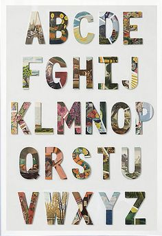 swarm letters @anthropologie