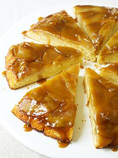 Caramelized Apple Cake #thanksgiving #desserts #holidays #apple #fall