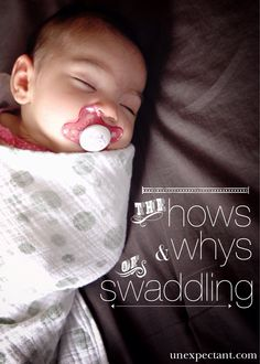 How to Swaddle a Baby | Step-by-step guide with pictures on how to swaddle a baby...info EVERY new parent needs to know! It helped calm my high-needs, colicky baby.