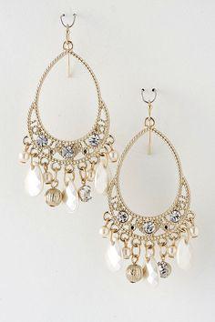 big gold earrings