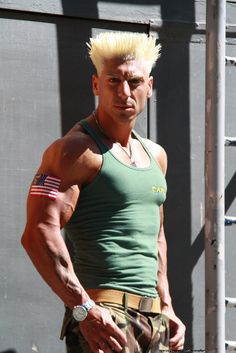 Guile #cosplay (from Street Fighter) by Step Redfield from Italy