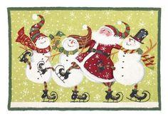 rug hook, hook rug, christma