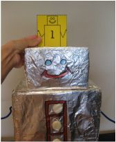 What's My Rule? Robot for math in and out boxes! Learn how to make your own! #TeacherGems #Math #ProblemSolving