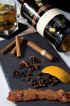 I can't think of anything more perfect: a rum-based digestif infused with smoked bacon, burning wood chips and cigar smoke