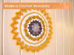 Make a Crochet Mandala For Your Home (via craft.tutsplus.com)
