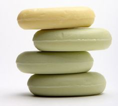Homemade organic soaps and lotions. Tons of recipes!