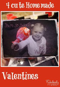 Valentine's Day is so fun when you make your own Valentines! #DIY