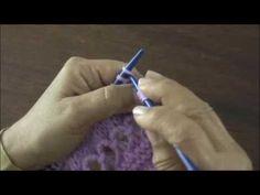 Instrucciones del punto peruano (broomstick loop stitch) tejido en dos agujas y crochet