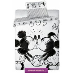 Minnie mouse disney bedding collection myszka minnie for Mickey minnie kissing bedding