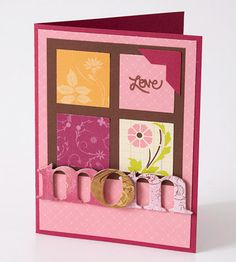 A Card For Mom - Here are 10 easy to make card ideas!