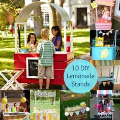 10 Summer Fun DIY Lemonade Stands