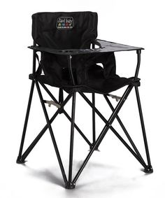 Look what I found on #zulily! Black Travel High Chair by ciao! baby #zulilyfinds