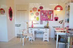 Craft room on a budget. Lowe's Creative Ideas