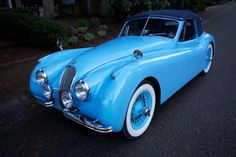 .beautiful color for a classic car,