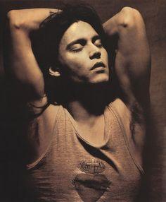 Johnny Depp by Albert Watson, 1993