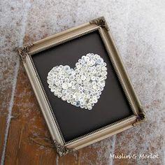 Muslin and Merlot: Button Up Your Heart!
