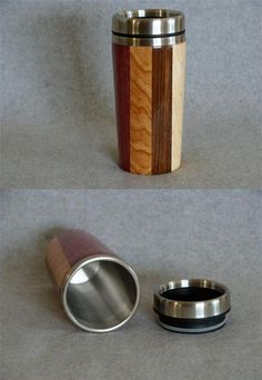 Cool application of lathe work to a simple travel mug!